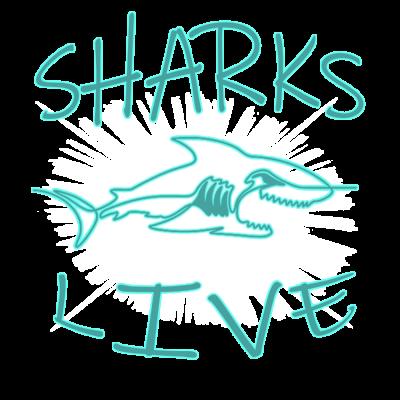 Shark live logo (clear)
